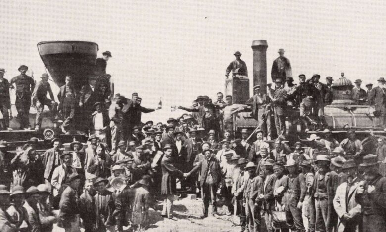 Photo of The Golden Nail: How the Railroad Changed North America